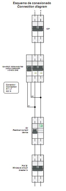 esquemas elctricos esquema conexionado protector t